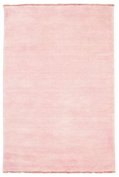 Handloom Fringes - Roosa Matto 120X180 Moderni Vaaleanpunainen (Villa, Intia)