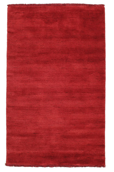 Handloom fringes - Dark Red carpet CVD5262
