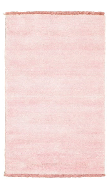 Handloom fringes - Pink rug CVD5316