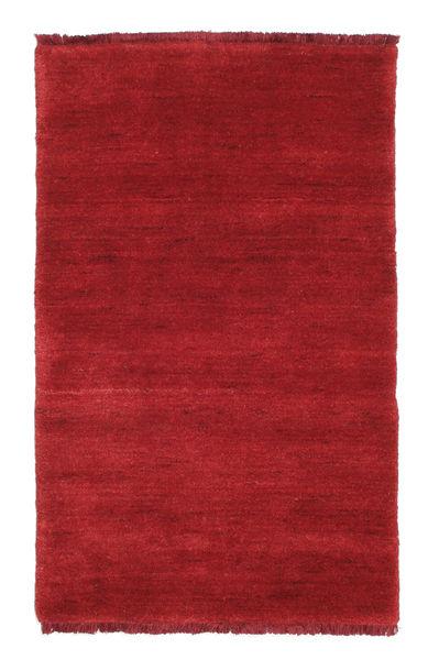 Handloom fringes - Mörkröd matta CVD5264