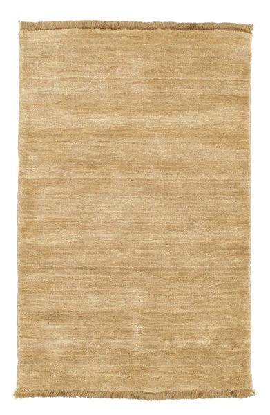 Handloom fringes - Beige rug CVD5508