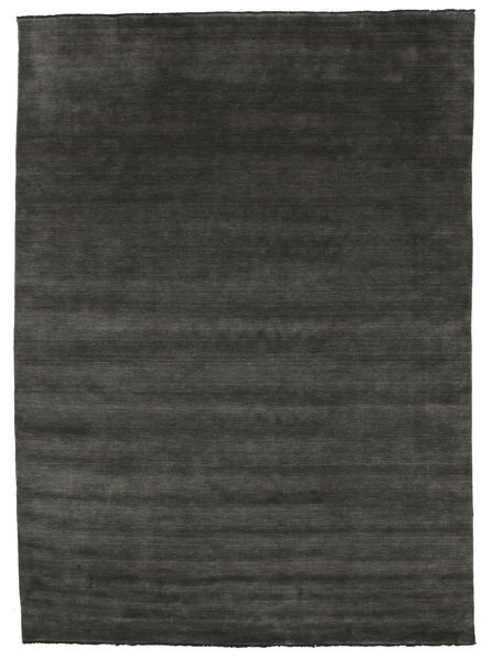 Handloom fringes - Musta / Harmaa-matto CVD5468