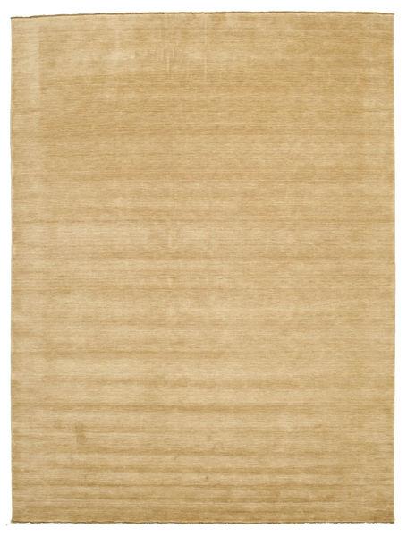 Handloom Fringes - Beige Matto 300X400 Moderni Vaaleanruskea/Tummanbeige Isot (Villa, Intia)