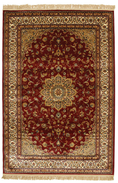 Nahal - Ruoste Matto 160X230 Moderni Tummanpunainen/Tummanruskea/Vaaleanruskea ( Turkki)