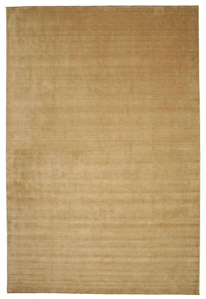 Handloom Fringes - Beige Rug 400X600 Modern Light Brown/Dark Beige Large (Wool, India)