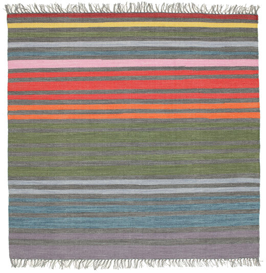 Rainbow Stripe - Grey rug CVD5807