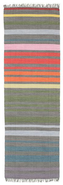 Rainbow Stripe - Grey rug CVD5812