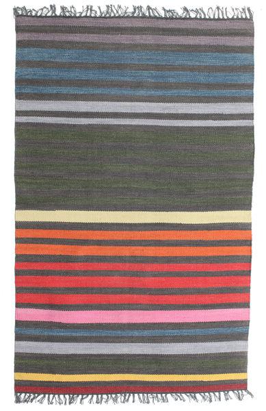 Rainbow Stripe - Harmaa-matto CVD5808