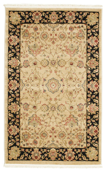 Farahan Ziegler - Beige Teppe 100X160 Orientalsk Lysbrun/Mørk Beige ( Tyrkia)