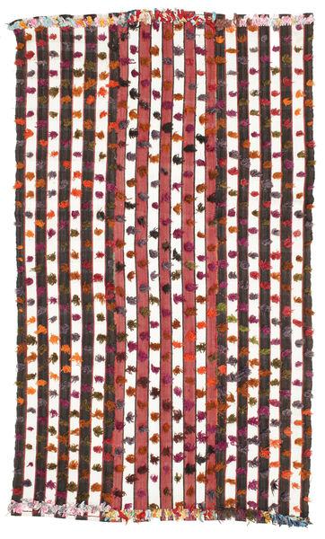 Kilim Semi Antique Turkish Rug 160X274 Authentic  Oriental Handwoven Beige/Dark Red (Wool, Turkey)