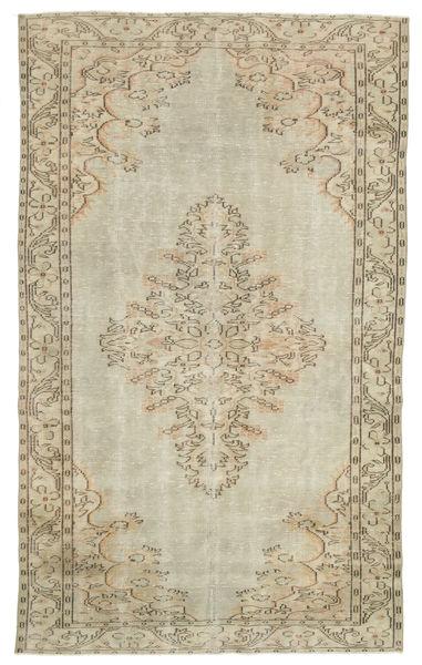 カラード ヴィンテージ 絨毯 176X295 モダン 手織り 暗めのベージュ色の/薄茶色/オリーブ色 (ウール, トルコ)