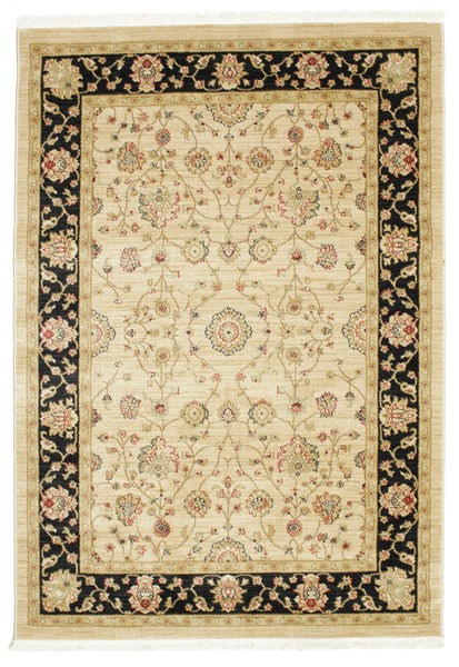Farahan Ziegler - Beige Rug 140X200 Oriental Yellow/Light Brown ( Turkey)