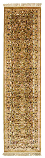 Kerman Diba - Brown Rug 80X300 Modern Hallway Runner  Brown/Light Brown ( Turkey)
