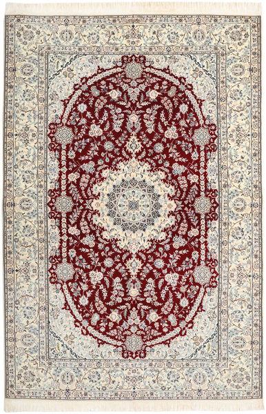 Nain 6La Habibian Matto 160X237 Itämainen Käsinsolmittu Beige/Vaaleanharmaa (Villa/Silkki, Persia/Iran)