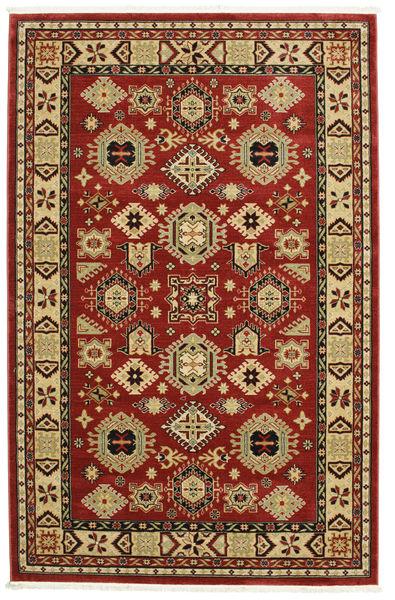 Shirvan Kazak Tapete 200X300 Moderno Vermelho Escuro/Castanho Escuro ( Turquia)