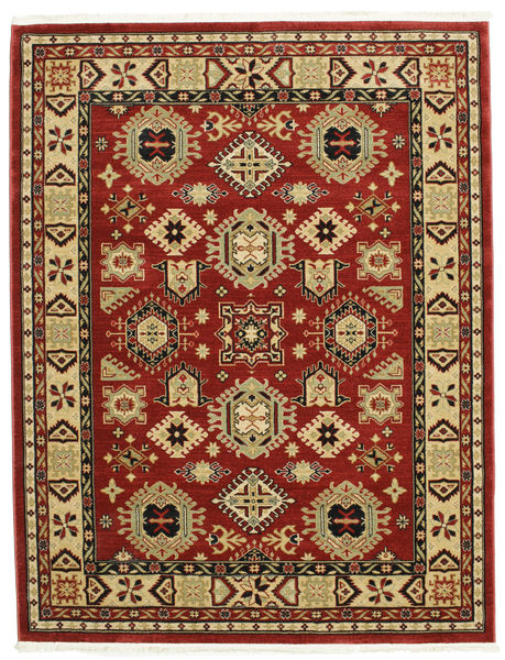 Şirvan Kazak Matto 200X250 Moderni Tummanpunainen/Tummanruskea ( Turkki)