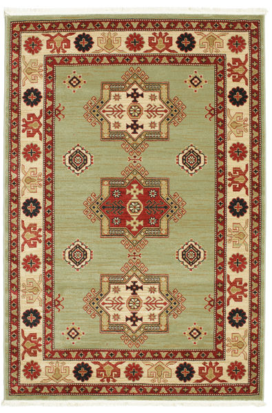 Marivan Kazak Rug 160X230 Modern Light Green/Beige ( Turkey)