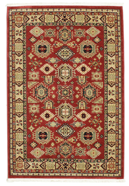 Shirvan Kazak Rug 140X200 Oriental Dark Red/Light Brown ( Turkey)