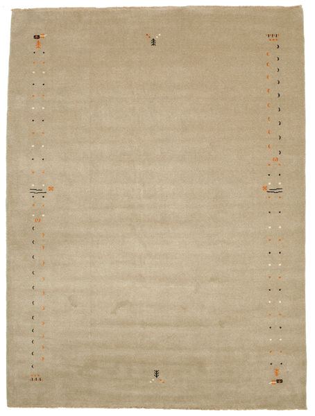 Gabbeh Loom Frame - Mørk beige teppe CVD5790