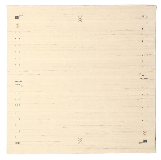 Tapis Gabbeh Loom Frame - Blanc écru CVD5916