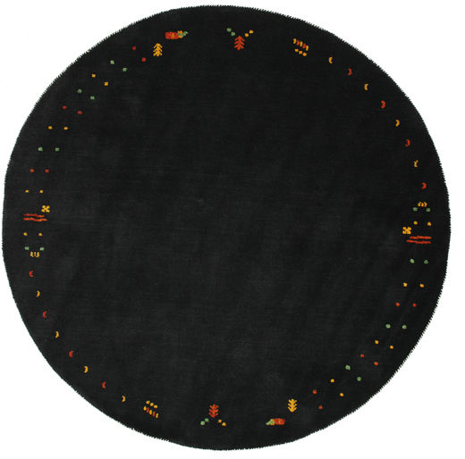 Gabbeh Loom Frame - Zwart / Grijs tapijt CVD5730