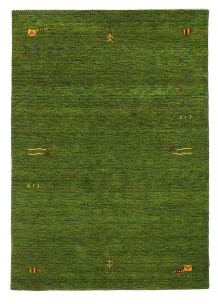 Gabbeh Loom Frame - Green Rug 140X200 Modern Dark Green (Wool, India)