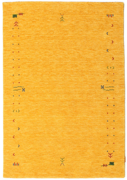 Gabbeh Loom Frame - Yellow Rug 140X200 Modern Orange (Wool, India)