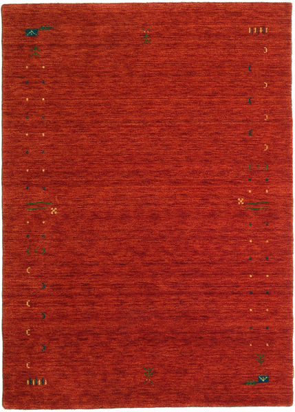Gabbeh Loom Frame - Óxido Rojo Alfombra 160X230 Moderna Óxido/Roja/Rojo Oscuro (Lana, India)