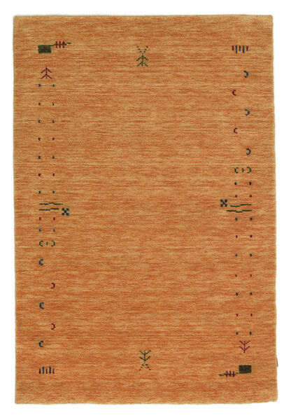 Gabbeh Loom Frame - Orange Tapis 120X180 Moderne Orange (Laine, Inde)