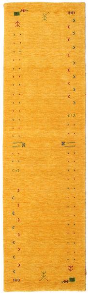 Gabbeh Loom Frame - Sárga Szőnyeg 80X300 Modern Narancssárga (Gyapjú, India)
