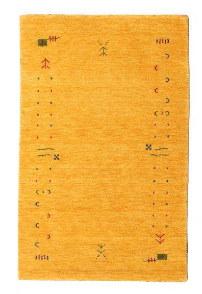 Gabbeh Loom Frame - Yellow Rug 100X160 Modern Orange (Wool, India)
