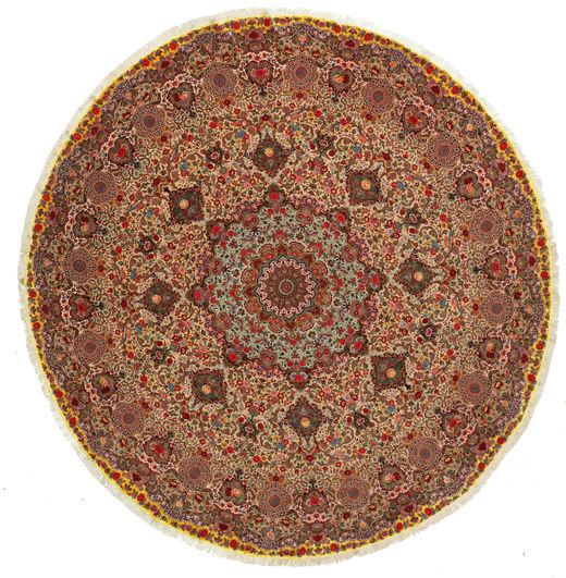 Tabriz 70 Raj silk warp carpet VEXJ15
