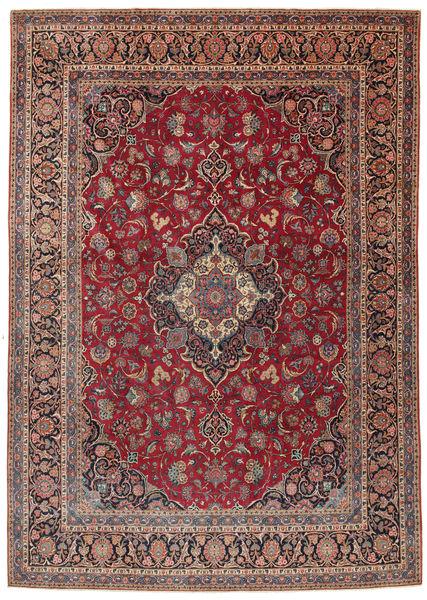 Keshan Matto 275X385 Itämainen Käsinsolmittu Ruskea/Tummanruskea Isot (Villa, Persia/Iran)