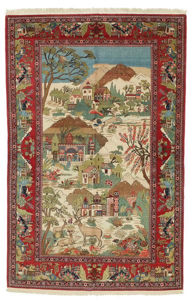 Keshan figuratief / geïllustreerd tapijt VEXD18