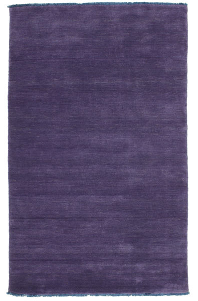 Handloom Fringes - Purple Rug 100X160 Modern Dark Purple (Wool, India)