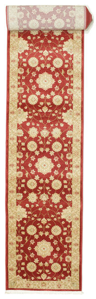 Farahan Ziegler - Czerwony Dywan 80X600 Orientalny Chodnik Rdzawy/Czerwony/Beżowy ( Turcja)