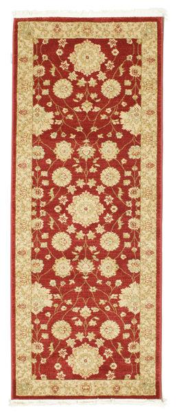 Farahan Ziegler - Czerwony Dywan 80X200 Orientalny Chodnik Ciemnoczerwony/Jasnobrązowy ( Turcja)