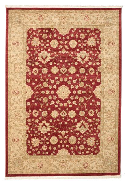 Farahan Ziegler - Rød Tæppe 160X230 Orientalsk Lysebrun/Mørkerød/Mørk Beige ( Tyrkiet)