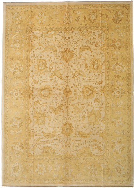 Oushak Rug 300X418 Authentic  Oriental Handknotted Light Brown Large (Wool, Turkey)