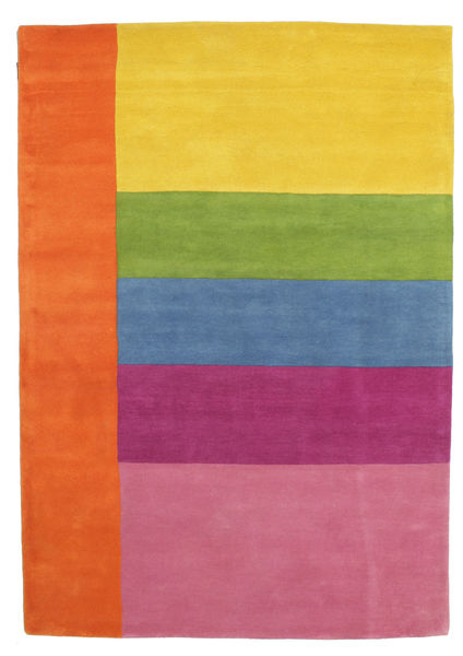 Colors By Meja Handtufted Rug 160X230 Modern Light Pink/Orange/Yellow (Wool, India)