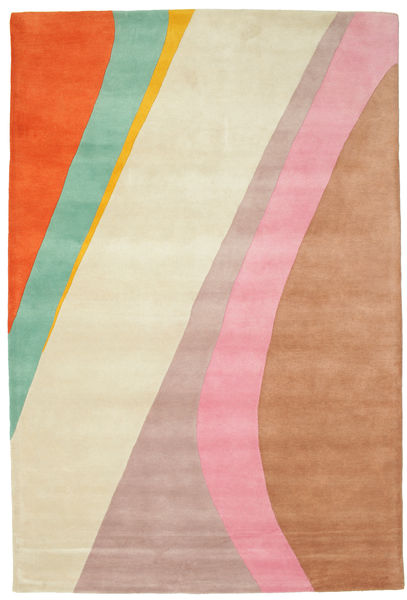 Dynamic Handtufted - Pink Rug 200X300 Modern Beige/Light Pink/Light Brown (Wool, India)