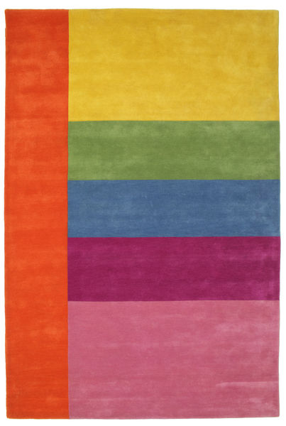 Colors By Meja Handtufted Matta 200X300 Modern Orange/Rosa (Ull, Indien)