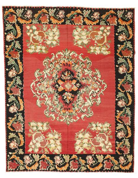 Kelim Halbantik Teppich  225X301 Echter Orientalischer Handgewebter Rost/Rot/Dunkelgrau (Wolle, Slowenien)