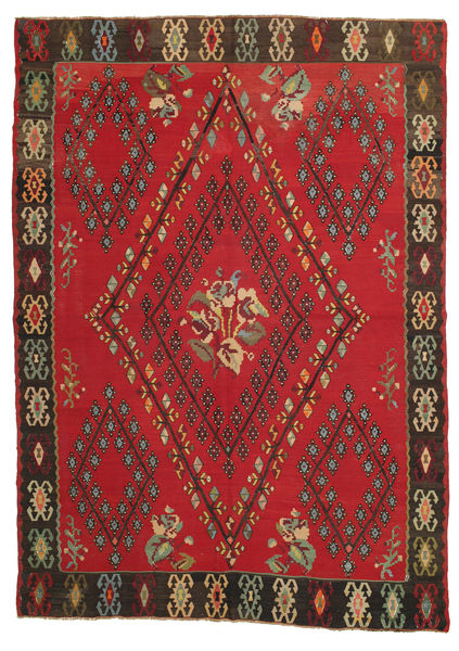Kelim semi-antiek tapijt XCGS156