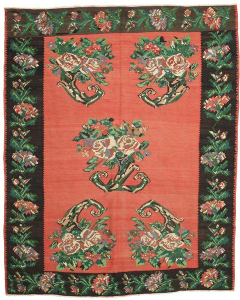 Kilim Semi Antique Rug 255X320 Authentic  Oriental Handwoven Orange/Dark Green Large (Wool, Slovenia)