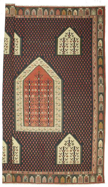 Kelim Bulgarian Matto 540X727 Itämainen Käsinkudottu Tummanharmaa/Ruskea Isot (Villa, Bulgaria)