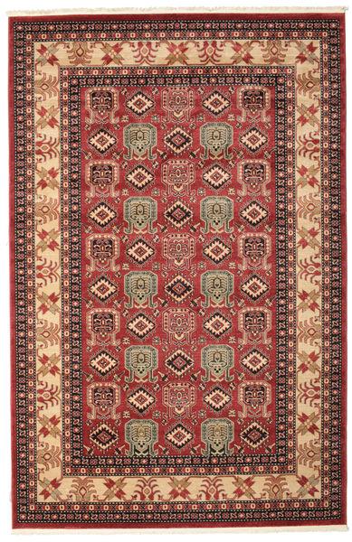 Kazak Simav Matta 200X300 Orientalisk Mörkröd/Mörkbrun ( Turkiet)