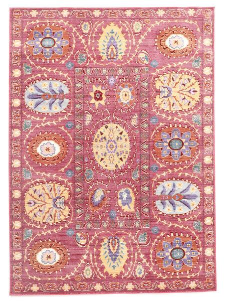 Orion - Roosa Matto 140X200 Moderni Tummanbeige/Vaaleanpunainen ( Turkki)