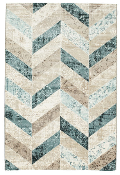 Ziggy - Blue Rug 160X230 Modern Dark Beige/Light Grey ( Turkey)