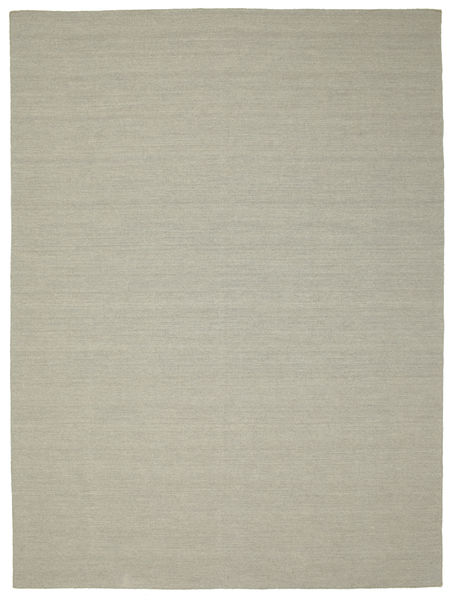 Kilim Loom - Light Grey/Beige Rug 250X350 Authentic  Modern Handwoven Light Grey/Pastel Green Large (Wool, India)